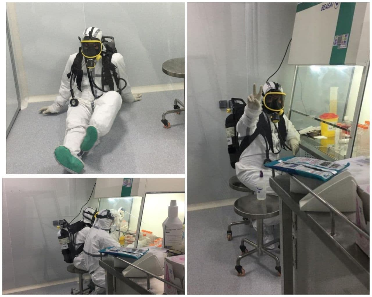 انتشار تصاویری از محققان ایرانی در حال ساخت واکسن کرونا، برای اولین بار